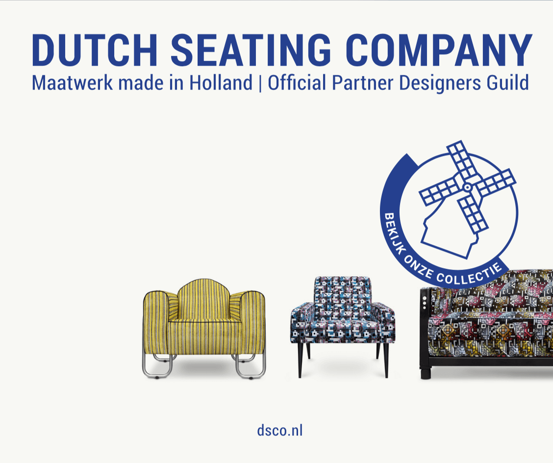 Display banner design voor Dutch Seating Company