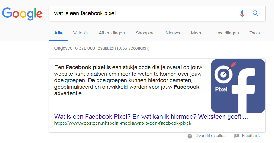 Wat is een featured snippet?