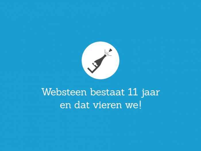 Internetbureau Websteen bestaat 11 jaar
